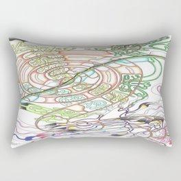 Coffee swirl Rectangular Pillow