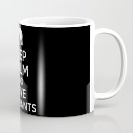 Elephant Keep Calm Coffee Mug