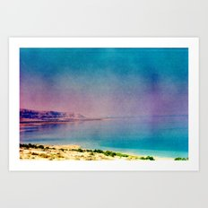 Dreamy Dead Sea II Art Print