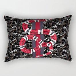 goyard snake Rectangular Pillow