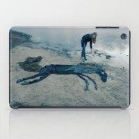 sea horse iPad Cases featuring Sea horse by Kestere
