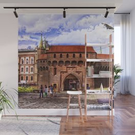 Barbican Cracow Wall Mural