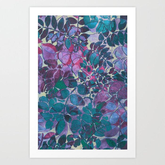 Love of Leaves 2 Art Print