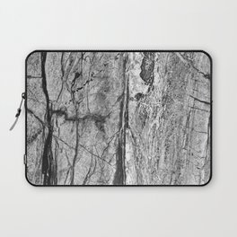 Grayscale Granite Laptop Sleeve