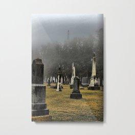 New Melleray Abbey Graveyard, Peosta, Iowa Metal Print