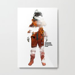 Major Tom Metal Print