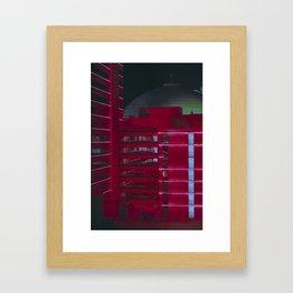 Reno Noir Framed Art Print