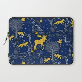 Blue Forest Laptop Sleeve