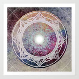 Mantra Art Print