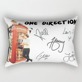 One Direction - Phone Booth Rectangular Pillow