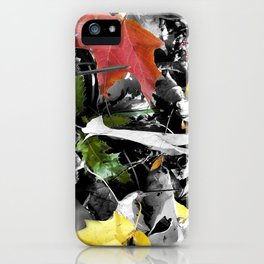 colors in contrast iPhone Case