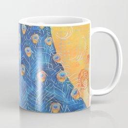 Peacock - The Protector Coffee Mug