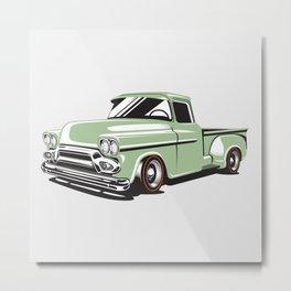 Rat Rod Truck Metal Print