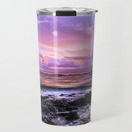 Purple Sunrise, Poipu Beach, Kauai, Hawaii Travel Mug