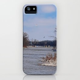 Cold Convergence iPhone Case