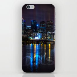 Philly Skyline Glowing iPhone Skin