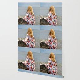 Gazing Redhead Wallpaper