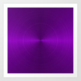 Metallic Purple Art Print