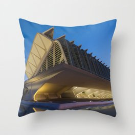 Príncipe Felipe Science Museum Throw Pillow