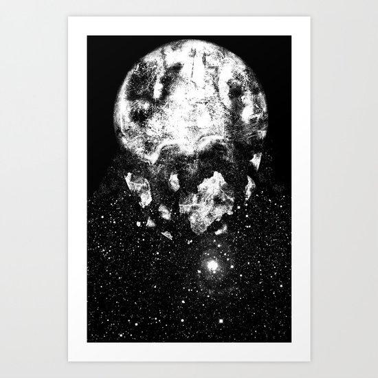 The Moon Is Down Art Print