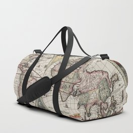 Vintage Maps Of The World Duffle Bag