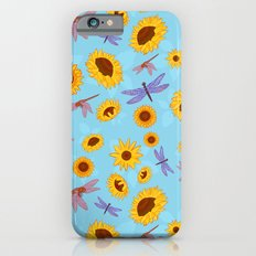 Sunflowers & Dragonflies Slim Case iPhone 6s