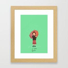 Audrey Tautou - Amelie Framed Art Print