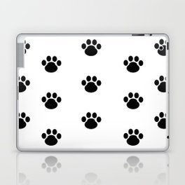 Puppy Dog Paw Prints Laptop & iPad Skin