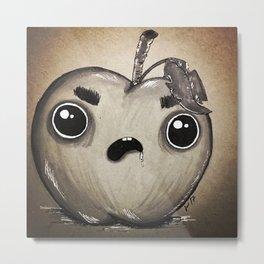 Bad Apple Metal Print