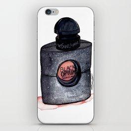 Black Opium iPhone Skin