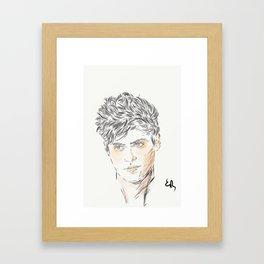 Alec Lightwood Framed Art Print