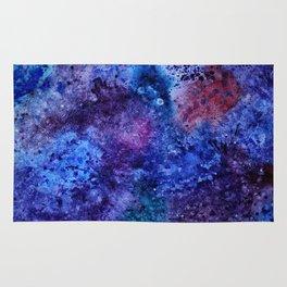 Watercolor space Rug
