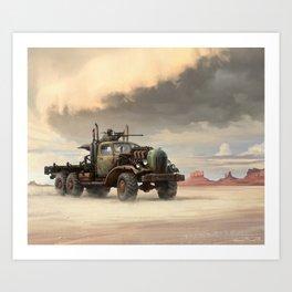 Desert III Art Print