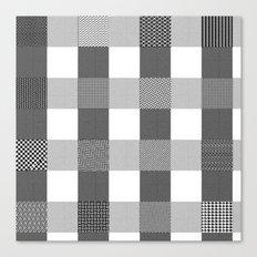 Yogi, B&W Canvas Print