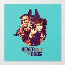 Han Solo & Chewbacca Canvas Print