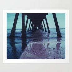 Glenelg Pier Art Print