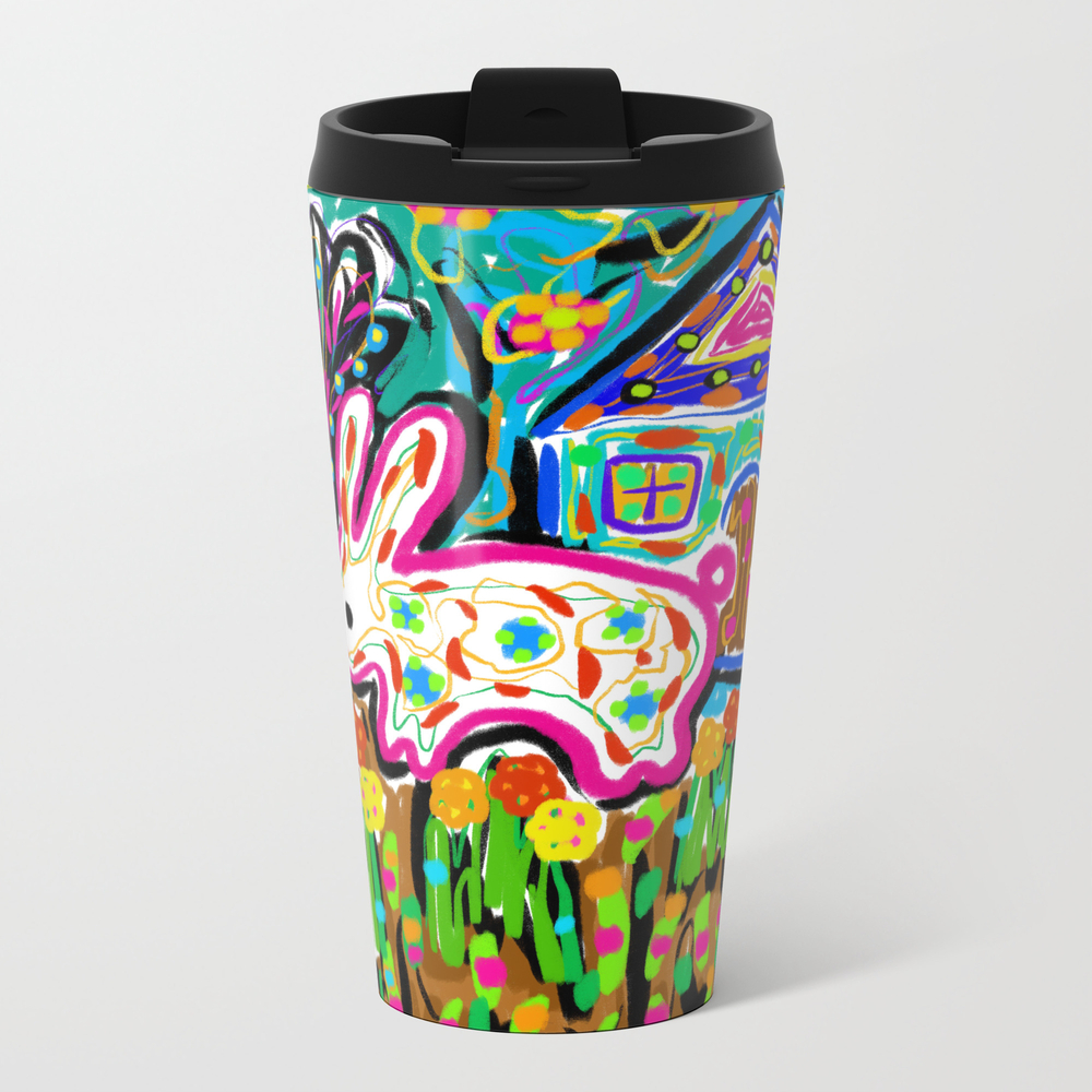 Rabbit And House Travel Cup TRM8689956