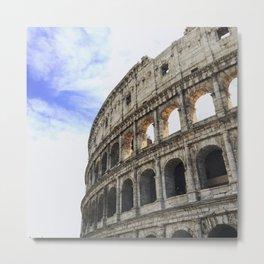 Coliseum Roma Italy Metal Print