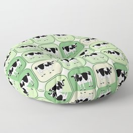 Tiled cows pattern Floor Pillow
