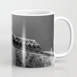 Eiffel Tower 2 (Black and White) Coffee Mug