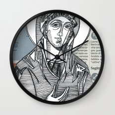 Madonna of Today's Horoscope Wall Clock