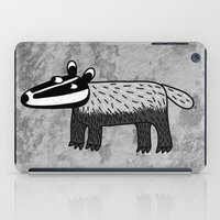 badger iPad Cases featuring Badger by Nic Squirrell