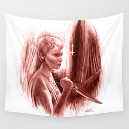 Homage to Rosemary's Baby Wall Tapestry
