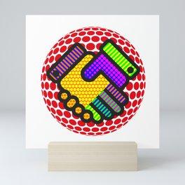 Friendship is Freedom - Dots Mini Art Print