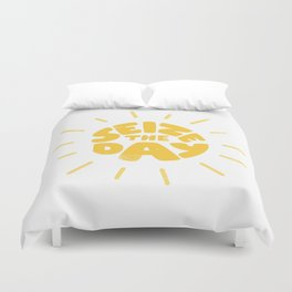 Seize the day Duvet Cover