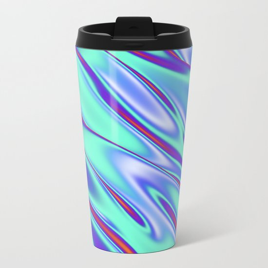Melting Sublime Metal Travel Mug