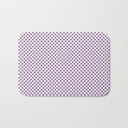 Dewberry Polka Dots Bath Mat