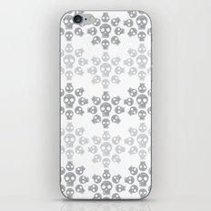 Skull Flowers iPhone & iPod Skin