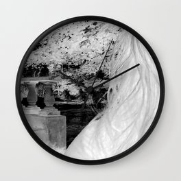 Negative Portrait Wall Clock