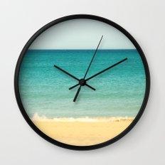 Beach,Sea & Sky - abstract Wall Clock